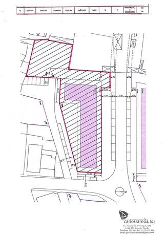 Terreno para construção/ cidade da Póvoa de Varzim/ 60 frações