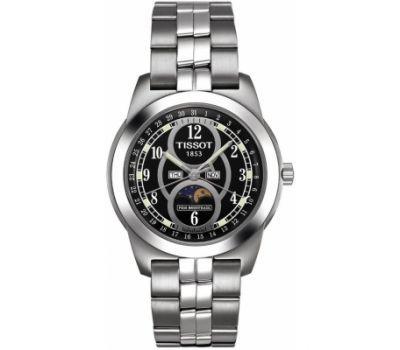 Часы наручные мужские Tissot T-Classic PR-50 MOONPHASE. Классика
