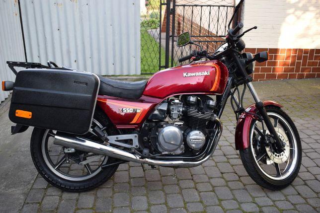 Kawasaki Z 550 F Piękny Klasyk