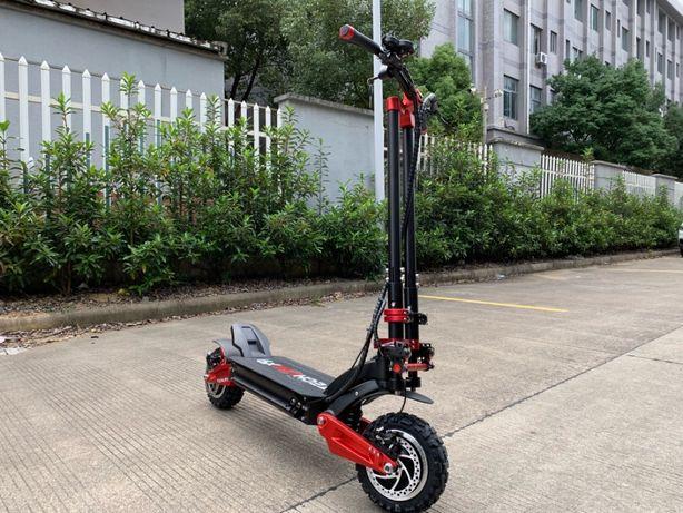 Najszybsza e-hulajnoga elektryczna Techlife X9 3200W 100 km 100 km/h