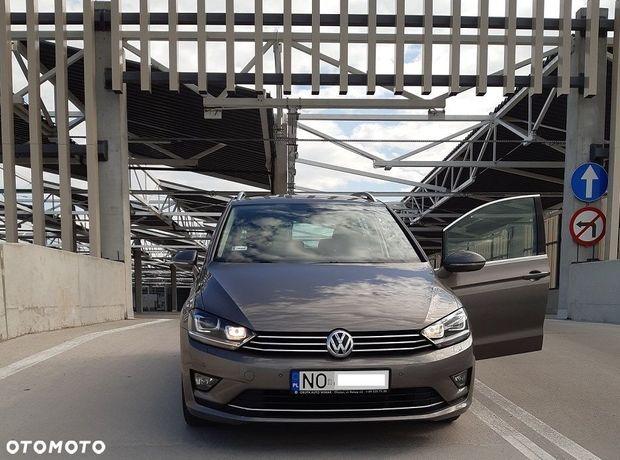 Volkswagen Golf Sportsvan Highline, I właściciel, serwis ASO, salon Polska, niski przebieg