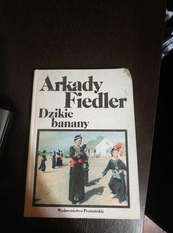 """Sprzedam książkę """"Dzikie banany"""" Arkady Fiedler"""