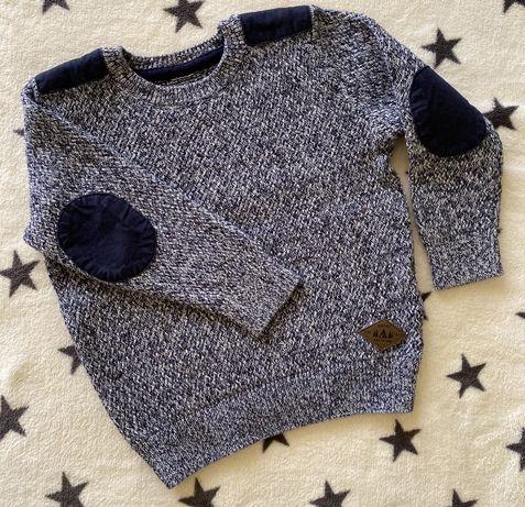 Фирменный свитерок для мальчика f&f 2-3 года