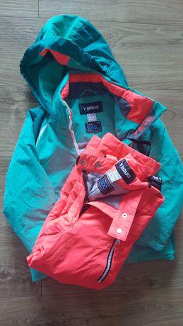 Kurtka i spodnie narciarskie zimowe 110-116 BRUGI