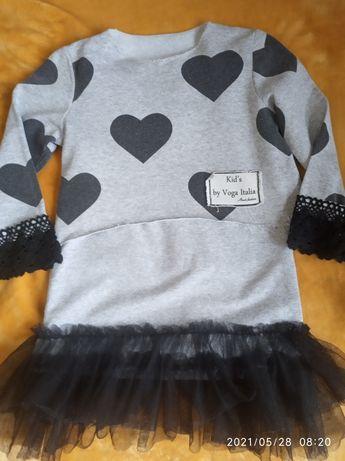 Komplet sukienka i bluzka  92