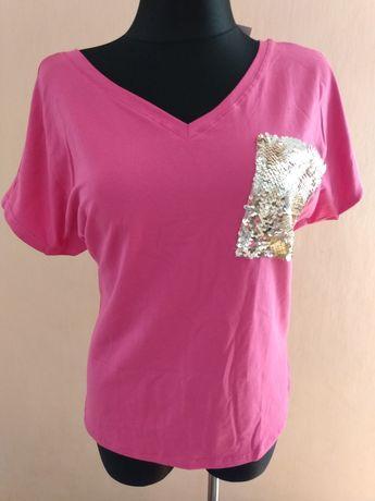 Nowa bluzka mega elastyczna L-xxl