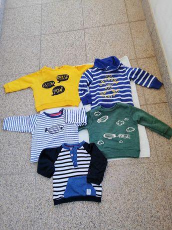 Camisolas para bebé desde os 9 aos 18 meses