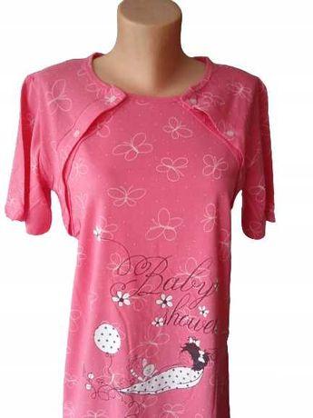 Koszula Nocna Ciążowa Bawełna M/L/XL