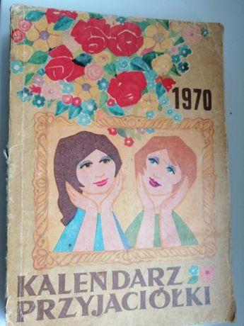 kalendarz przyjaciółki 1970r