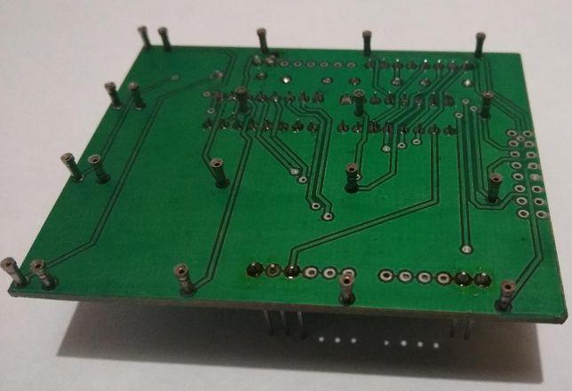 Конструктор для самостоятельной сборки светодиодный куб 4*4*4