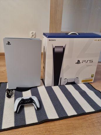 Playstation 5 z napędem  stan idealny gwarancja