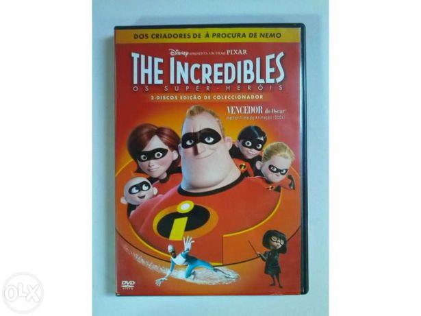 The Incredibles- 2 Discos Edição de Coleccionador