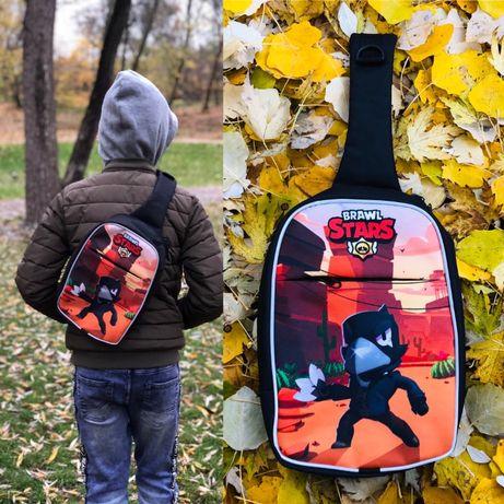 Детский рюкзак Бравл Старс - опт, розница, пр-во Crazy Bags™ Украина