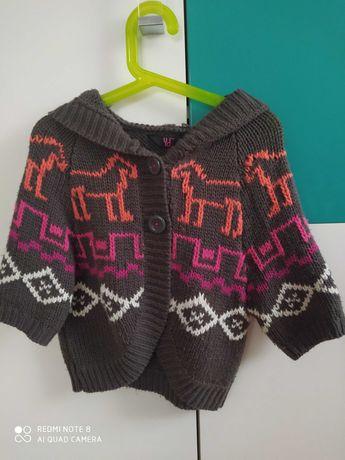 Bolerko,sweterek dziewczęcy rozmiar 140