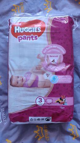 Подгузники памперсы трусики Huggies pants 3 для девочек