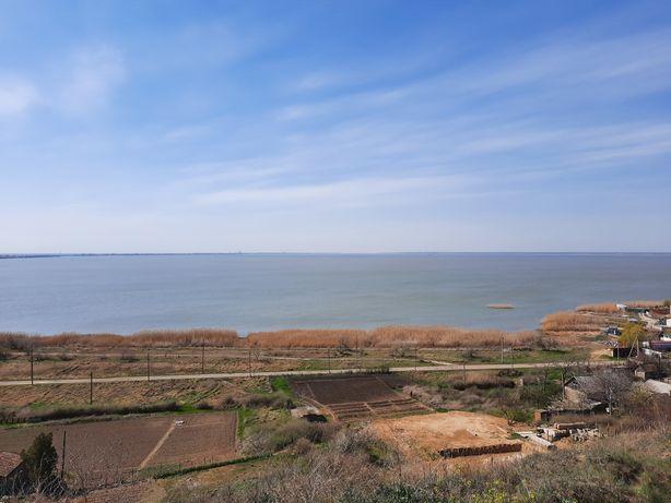 Участок 5.2 соток Каролино Бугаз с видом на лиман и на море
