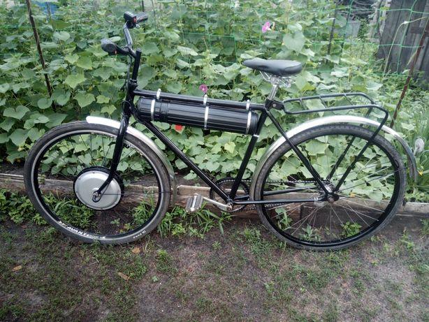 Срочно продам элекровелосипед 500 W