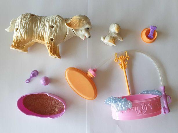 Cães de brincar da Barbie