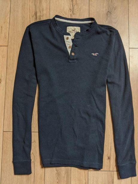 Hollister by Abercrombie koszulka męska longsleeve długi rękaw ideal L