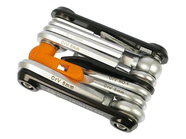 Мультитул SKS Tom 18, вело инструмент, 18 ключей + чехол