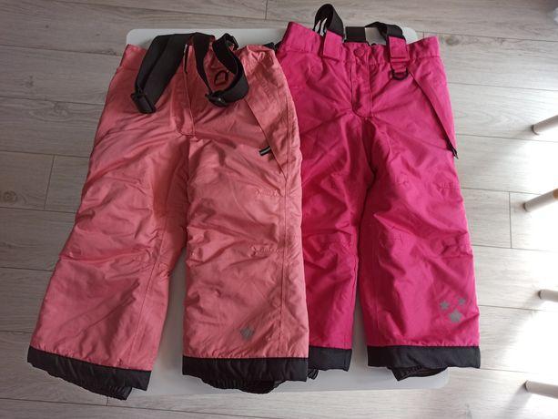 Spodnie zimowe narciarskie r.86/92 bliźniaczki