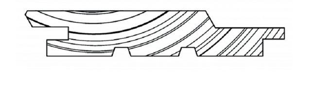Deska Elewacyjna Budmax Świerk Syberyjski
