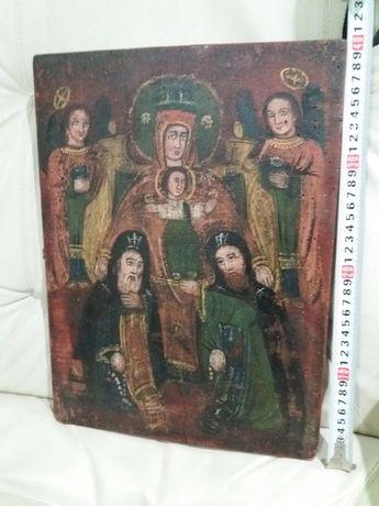 Богородица с предстоящими Антонием и Феодосием Печерскими