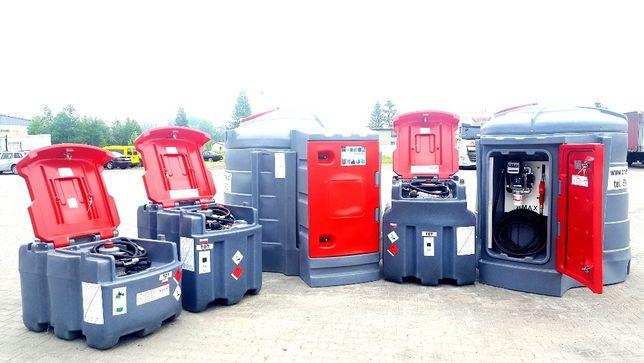 AMAX 2500 litrów zbiornik dwupłaszczowy na olej napędowy, diesel, raty