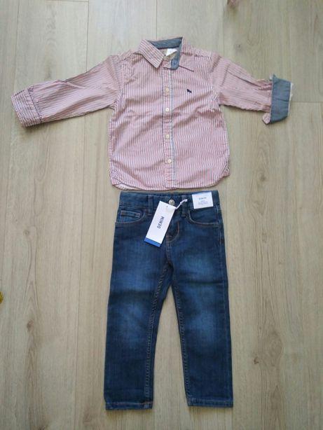 H&M джинсы для мальчика р.98 новые