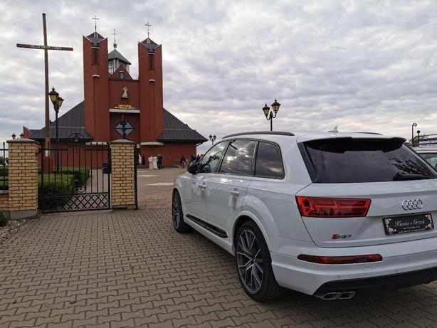 Auto do ślubu/ Audi SQ7 / 435 KM /