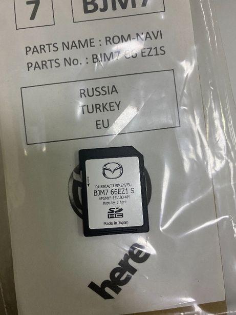 2021 Навигация Mazda  Европа Украина sd card карта 3 6 cx-3 cx-5 cx-9