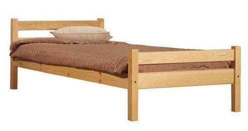 """""""Класика"""" кровать односпальная без бортов"""