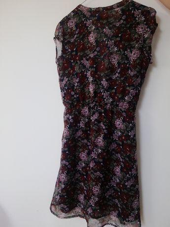 Sukienka Reserved 36 na lato kwiaty