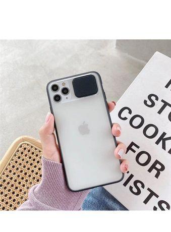 чехол с защитой  камеры для iphone 11 pro