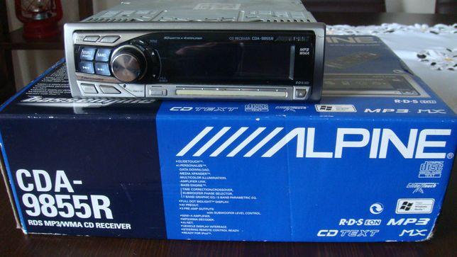 Radioodtwarzacz ALPINE CDA-9855R Rarytas