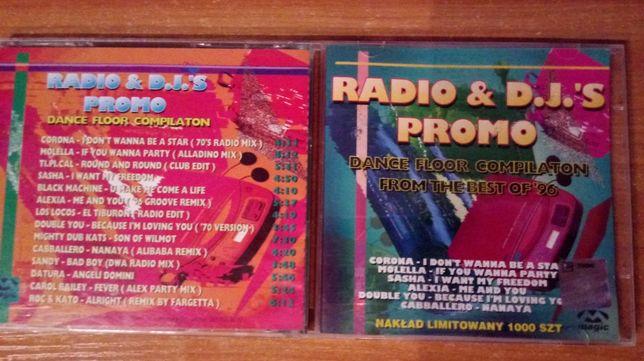 Radio & D.J.'s Promo UNIKAT CD