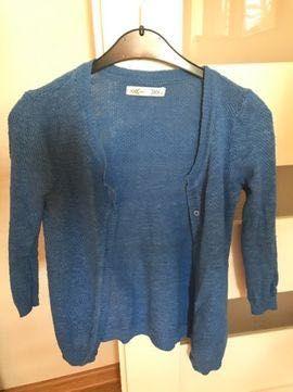 Ażurowy sweterek chaber rozm S