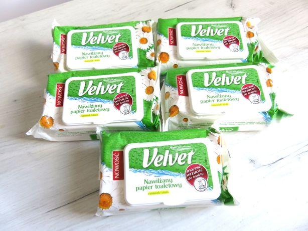 Velvet nawilżany papier toaletowy rumianek i aloes