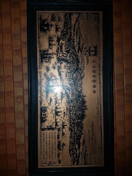 Antigo quadro imagem de lisboa