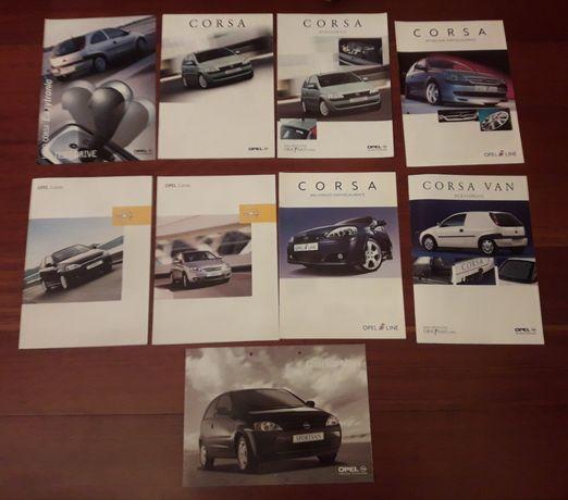 Opel Corsa C - Catálogos