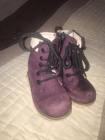 Детские зимние ботиночки, размер 25