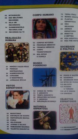 Livro de Recordes do Guiness 2002 World Records em Português