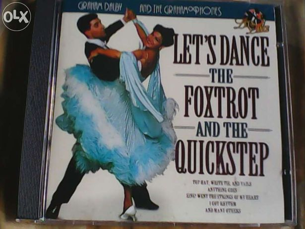 Let´s dance the foxtrot and the quickstep, cd