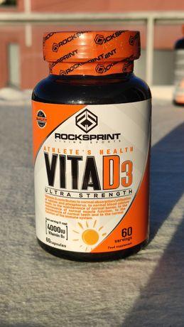 VITA D3 60 capsulas Rocksprint NOVO e SELADO
