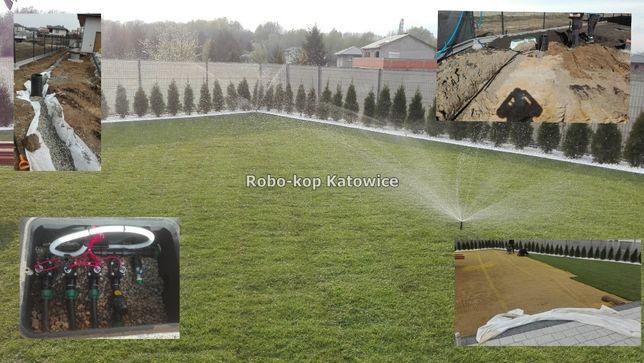 Automatyczne nawadnianie, zakładanie trawników, kształtowanie terenu