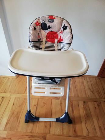 Krzesełko do karmienia super okazja  Nowe chicco polly easy 2w1 4 koła