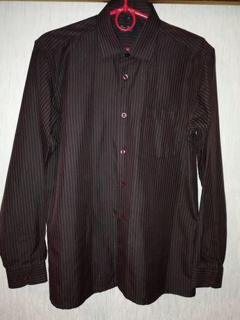 Рубашка на мальчика подростка 13-14 лет, р. 36