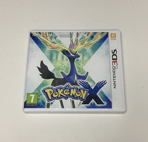 Pokémon X Nintendo 3DS completo