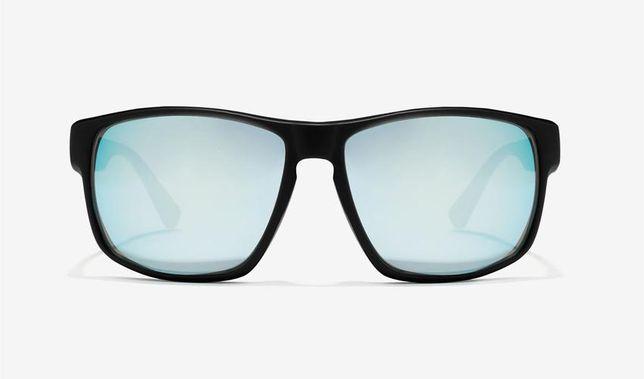 Óculos de sol Hawkers Black Blue Chrome Faster NOVOS