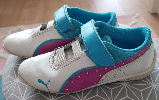 Buty PUMA dla dziewczynki. Najmodniejsze kolory, cekiny